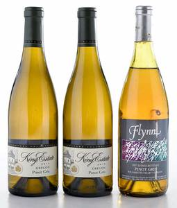 Three Vintage Oregon Pinot Gris