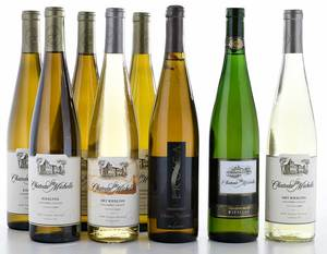 Eight Vintage Bottles Columbia Valley Riesling