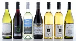 Seven Vintage New Zealand Red and White Wines