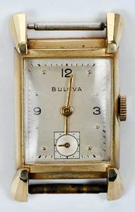 Bulova 14kt. Gold Movement
