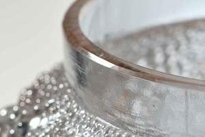 R. Lalique Davos Alexandrite Glass Vase