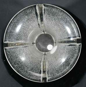 R. Lalique Marignane Frosted Glass Vase