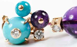 Cartier 18kt. Gold Delices De Goa Earrings