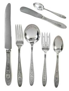 Wedgwood Sterling Flatware, 109 Pieces