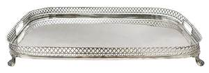 Portugal Silver Tray with Gallery