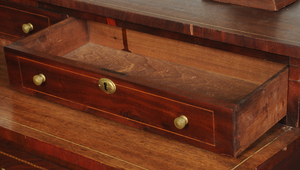 Federal Style Inlaid Mahogany Dressing Table