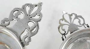 Eight Sterling Table Items