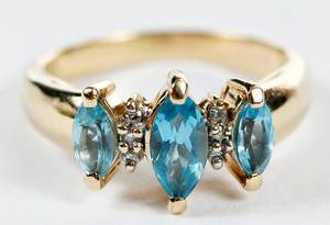 14kt. Gold and Gemstone Ring