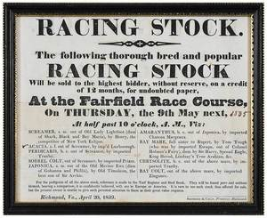 Three Horse Racing Related Advertisements