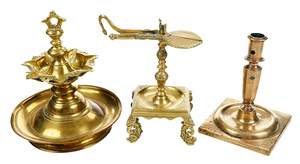 Three Brass Pieces