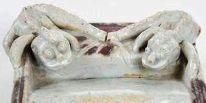 Longquan Style Celadon Brush Rest