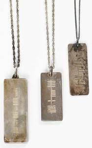 Three Irish Sterling Silver Necklaces