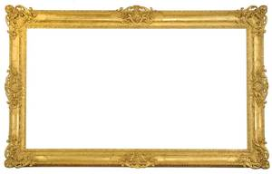 Fine Monumental Regency Style Frame