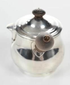 English Silver Brandy Warmer