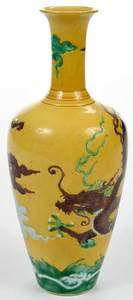 Chinese Vase with Dragon
