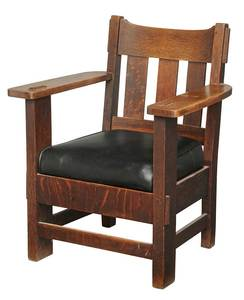 Charles Stickley Arts and Crafts Armchair