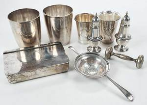 Sterling and Continental Silver Hollowware