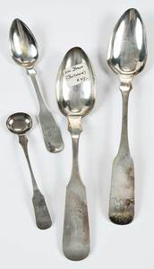 21 Maryland Coin Silver Spoons
