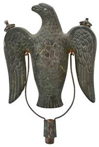Eagle Form Parade Torch Finial