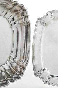 Sterling Tray and Bowl