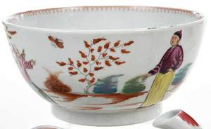 28 Piece Minton Chinoiserie Tea Service