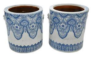 Pair of Chinese Cachepots