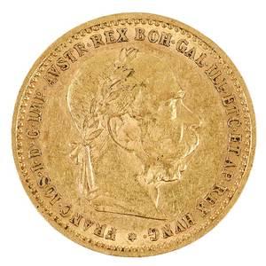 1905 Austrian Ten Corona Gold Coin