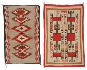 Two Southwestern Weavings