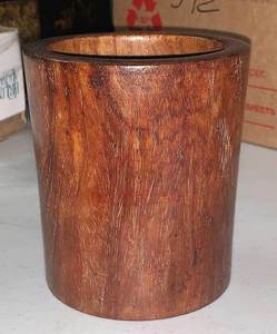 Chinese Huanghuali Brush Pot