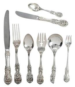 Francis I Sterling Flatware, 126 Pieces