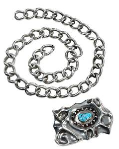 Southwest Silver Turquoise Necklace