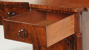 Scottish Regency Carved Mahogany Sideboard