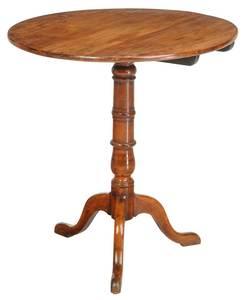 Georgian Fruitwood Tilt Top Tea Table