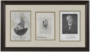 Three Images of John S. Mosby in One Frame