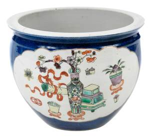 Chinese Planter With Kangxi Reign Mark