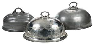 Three British 19th Century Meat Domes