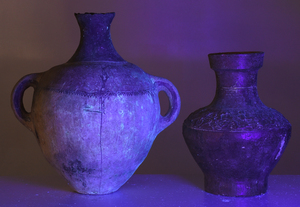 Two Early Chinese Earthenware Vessels