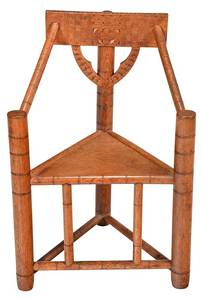 Gothic Style Oak Great Chair