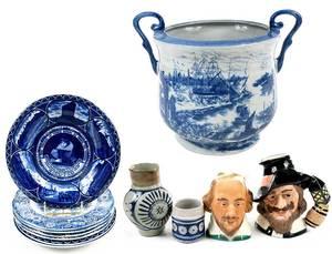 11 Pieces Commemorative Ceramics
