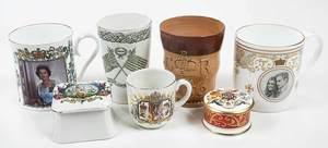 24 British Commemorative Ceramic Objects