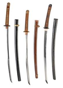 Three Samurai Swords