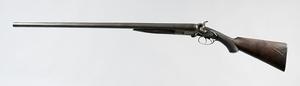 William H. Moore Double Barrel Shotgun