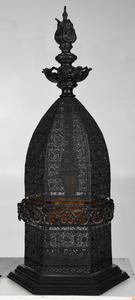 Pair Venetian Style Moorish Inspired  Lamps