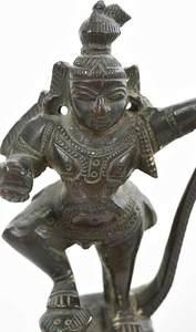 Three Miniature Bronze Hindu Deity Figures