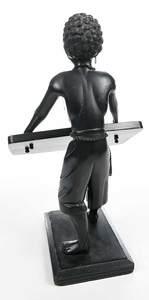 Blackamoor Figural Calling Card Holder
