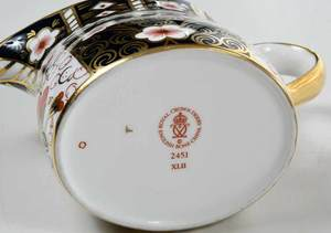 54 Piece Royal Crown Derby Imari China Set