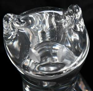 Steuben Glass Cat and Owl