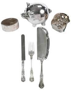 Twelve Tiffany Silver Items