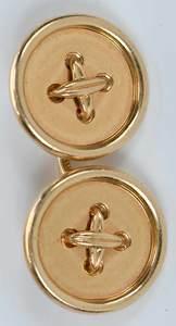 Cartier 14kt. Cufflinks