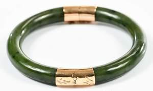 14kt. Hinged Bangle Bracelet